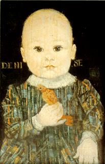 Retrato feito de sua neta, Denise - linha do tempo