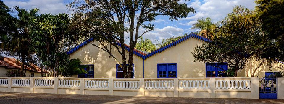 Fachada Museu Casa de Portinari em Brodowski